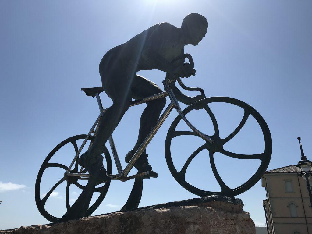 Marco Pantani in Cesenatico