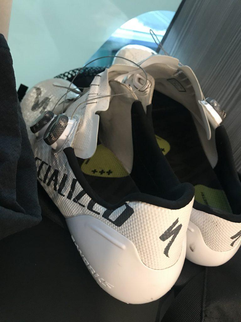 Peter Sagans Schuhe